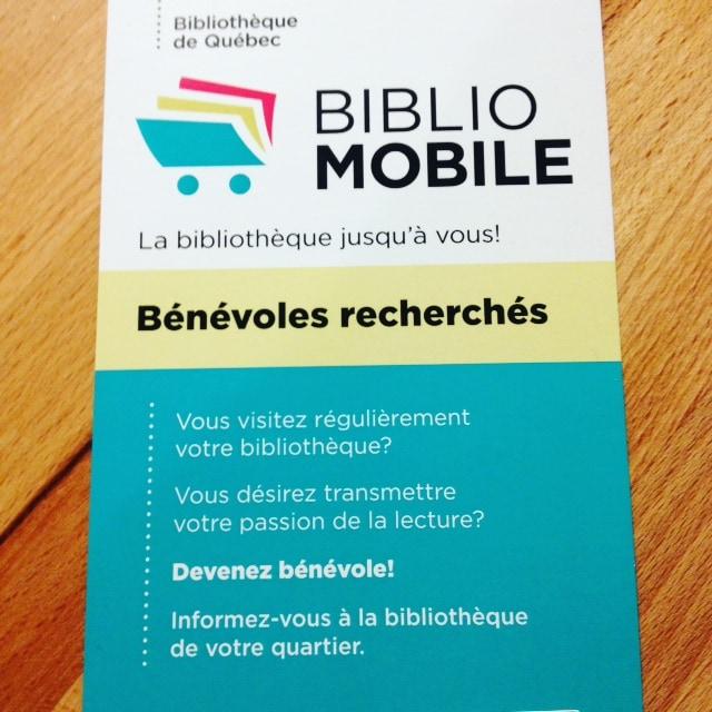 bibliotheque mobile publicite benevoles recherches