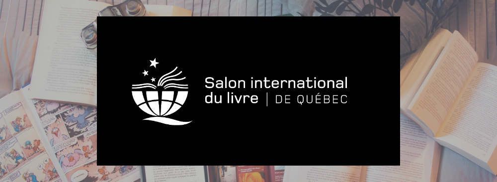 Logo du Salon international du livre de Québec.