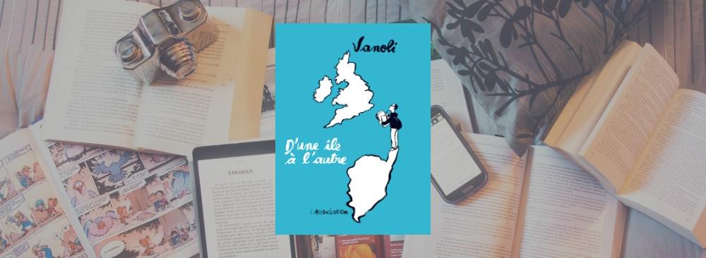 Couverture du livre D'une île à l'autre de Vanoli.