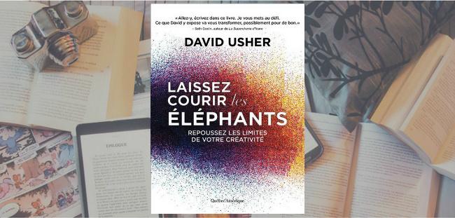 Couverture du livre Laissez courir les éléphants de David Usher.