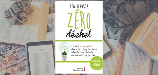 Couverture du livre Zéro déchet de Béa Johnson.