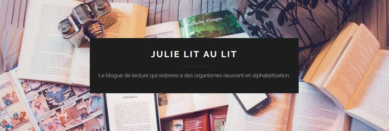 Bannière du blogue julielitaulit.com