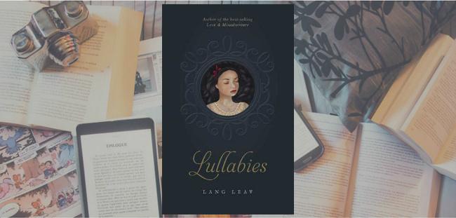 Couverture du livre Lullabies de Lang Leav.