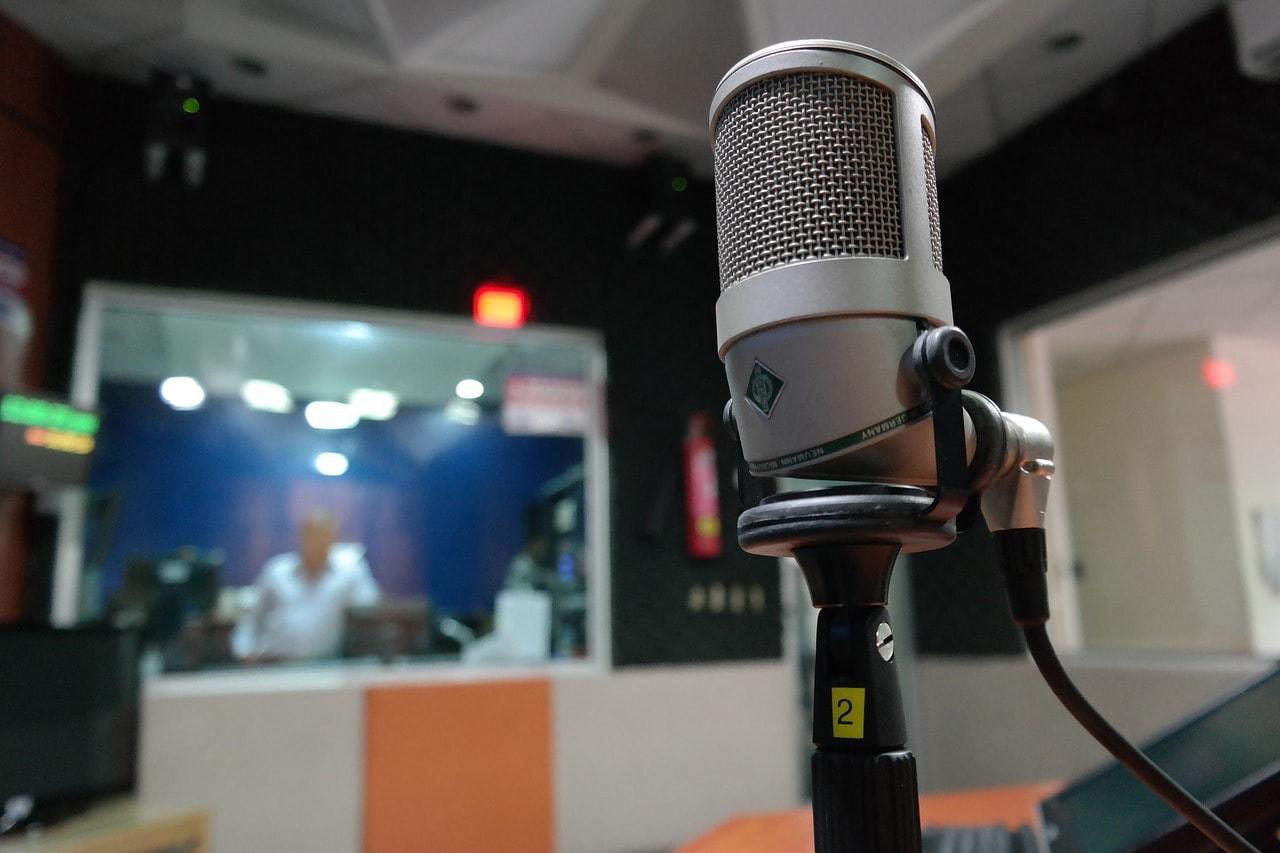 Studio de radio.
