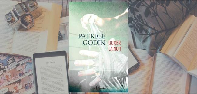 """Couverture du roman """"Boxer la nuit"""" de Patrice Godin, chez Libre Expression."""