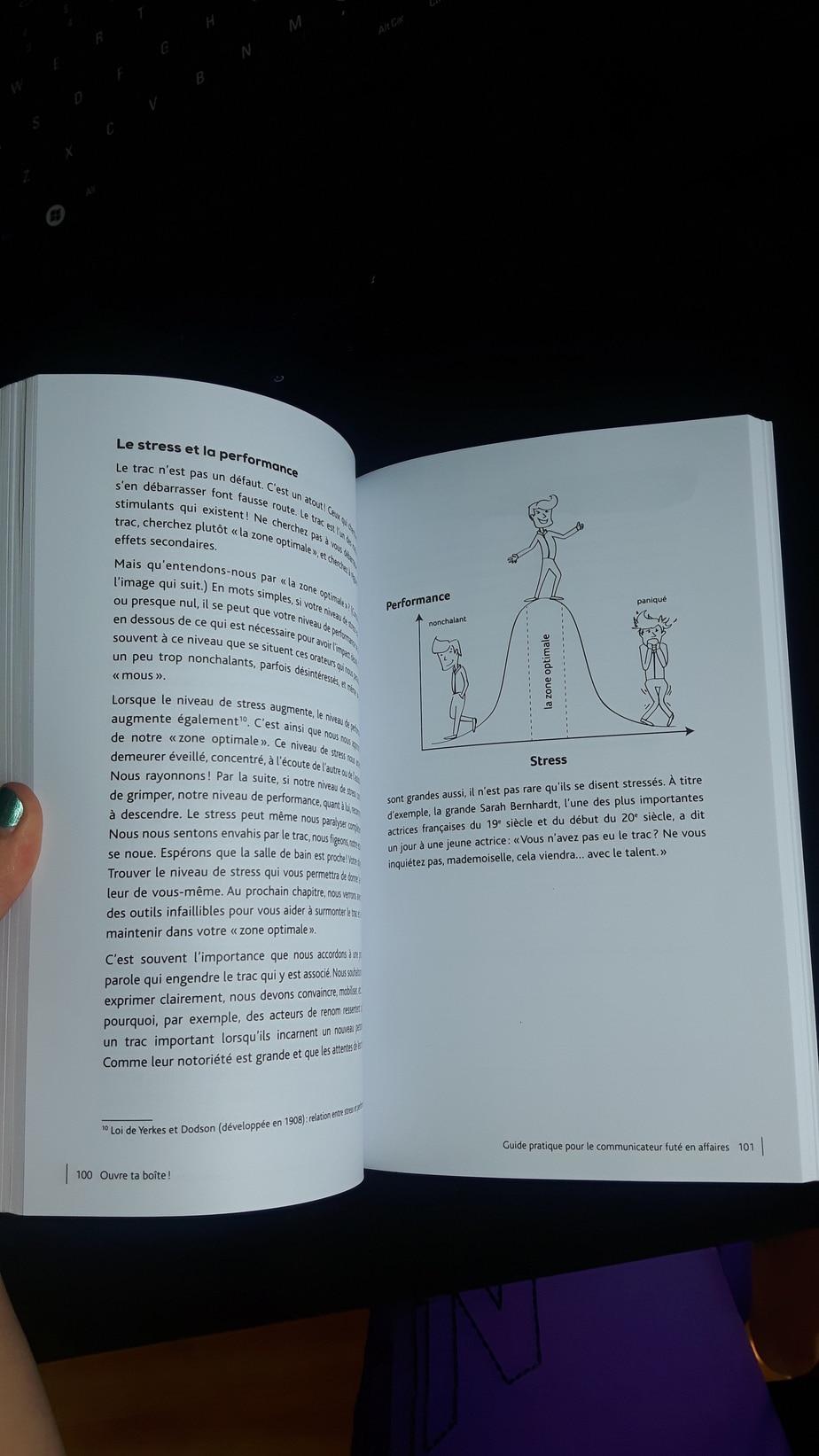 """Un extrait du livre """"Ouvre ta boîte!"""" de Mélissa Lapierre et Nicolas Harton."""