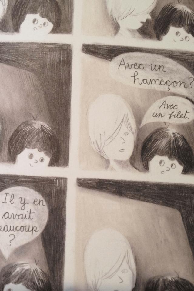 Échange entre Louis et son frère dans le bus qui les ramène à Montréal.