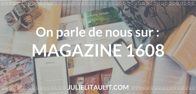 On parle de nous sur : Magazine 1608