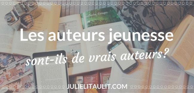 Les auteurs jeunesse sont-ils de vrais auteurs? Un texte de Patricia Rioux de Les éditions en pyjama, suite à une conférence du même nom au Salon du livre de Montréal 2017.