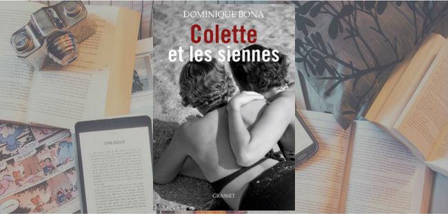 Couverture du livre Colette et les siennes de Dominique Bona.