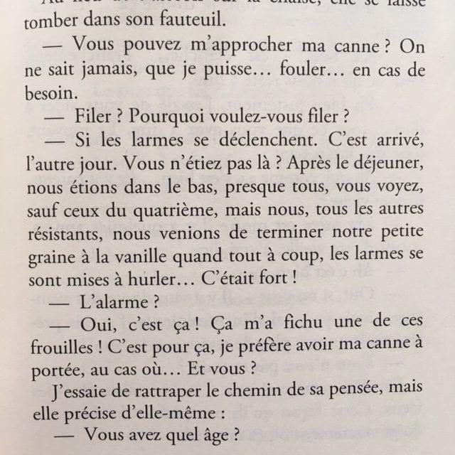 EXTRAIT TIRÉ DU ROMAN LES GRATITUDES DE DELPHINE DE VIGAN, PUBLIÉ CHEZ JC LATTÈS.