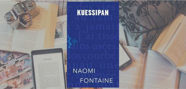 Couverture du roman Kuessipan de l'autrice Naomi Fontaine, publié chez Mémoire d'encrier.