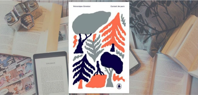 Couverture du livre Carnet de parc de Véronique Grenier, publié aux éditions de Ta Mère.