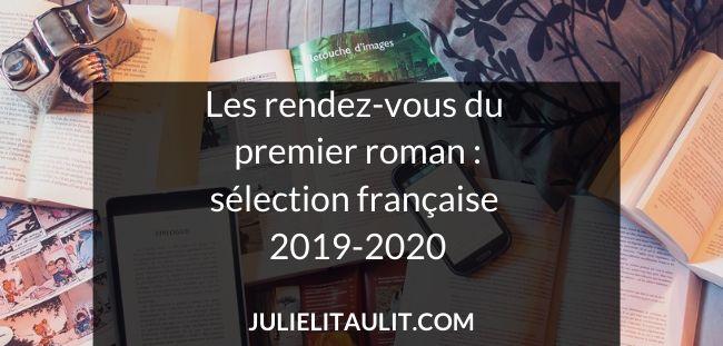 Les rendez-vous du premier roman : sélection française 2019-2020