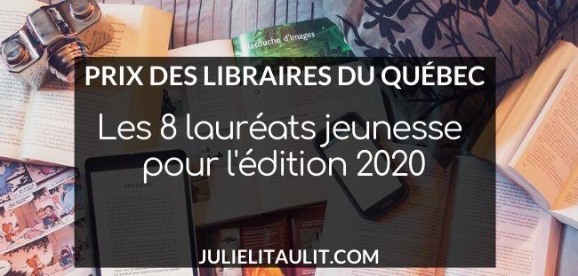 Les 8 lauréats des Prix des libraires 2020 - Jeunesse